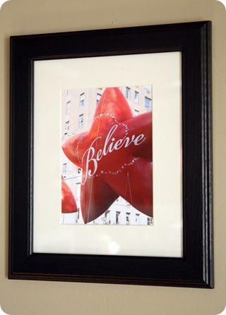macy's believe balloon