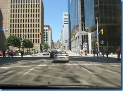 6017 Ottawa driving tour - Metcalfe St - Parliament Buildings straight ahead