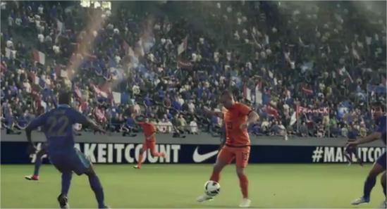 Nike y su excelente video sobre la final de la Champions