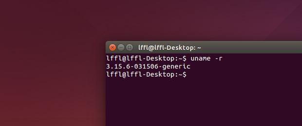 Linux 3.15.6 in Ubuntu