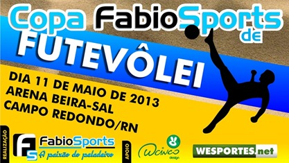 Fabio Sports - Copa de Fut&ecirc;volei - C&oacute;pia