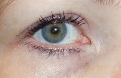 wearing Measurable Difference Lash Amplifying Mascara and Primer