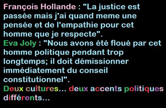 chirac e las reaccions politicas