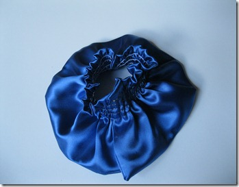 cobalt blue wedding ring bearer pillow and garter (17)