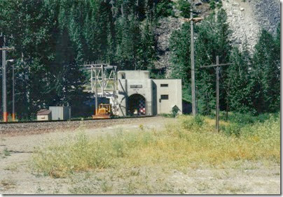 Door Closing at the Cascade Tunnel at Berne, Washington in 2000