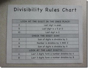 math worksheet : mrs castro s class divisibility freebie : Divisibility Rules Worksheet 4th Grade