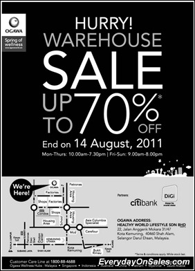 ogawa-warehouse-sales-2011-EverydayOnSales-Warehouse-Sale-Promotion-Deal-Discount