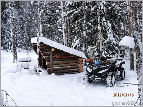 Vinter vid Siilas.