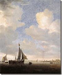 491px-Salomon_van_Ruysdael_-_View_of_Alkmaar_from_the_Sea_-_WGA20574