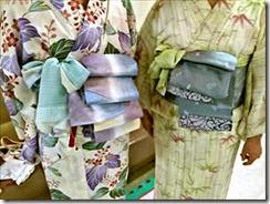 五日市シダックスの着物着付け教室で半巾帯を (4)