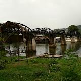 La seule attraction touristique du coin: le fameux pont de la rivière Kwai (on se demande parfois pourquoi on a fait 200km pour voir ça)
