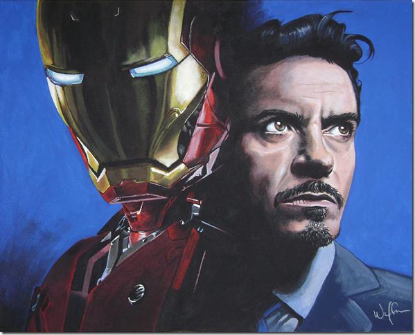 Iron man ,Anthony Edward ,Tony Stark (3)