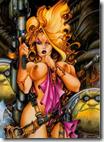 «Lorna», el erótico-espacial personaje femenino de Alfonso Azpiri