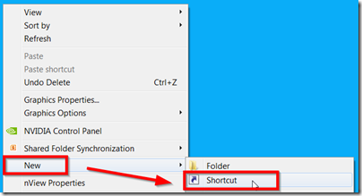 new-shortcut