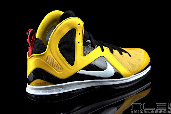 The Showcase Miami Heat Inspired LeBron 9 Elite 8220Taxi8221