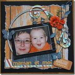 page maman et moi