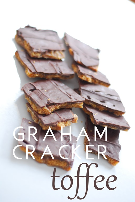 Graham Cracker Toffee