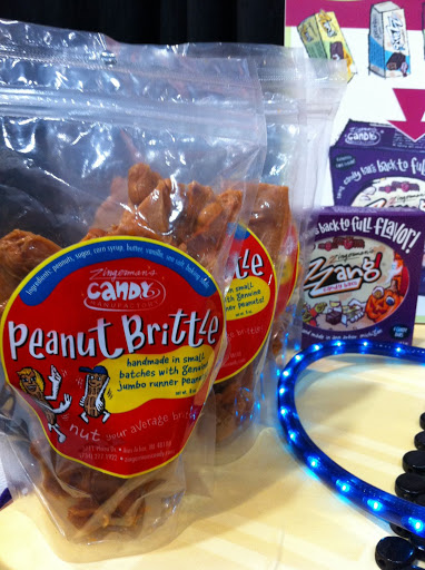 A deeply-roasted peanut flavor sets Zingerman's brittle apart.