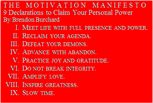 The Motivation Manifesto: How We Shall Overcome | A Magazine ...