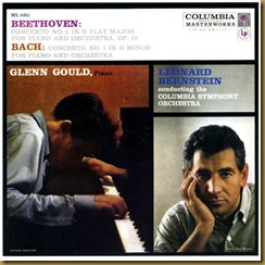 Beethoven concierto piano 2 Gould Bernstein