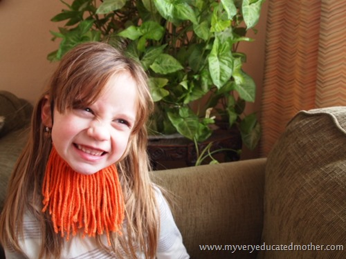@mvemother #stpatsday Beards #kidscraft
