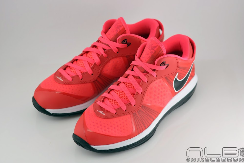 lebron 8 low red - photo #35