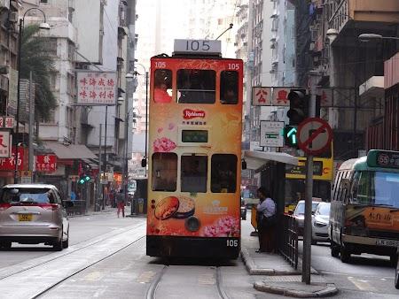 Anul Nou Chinezesc: Tramvai etajat
