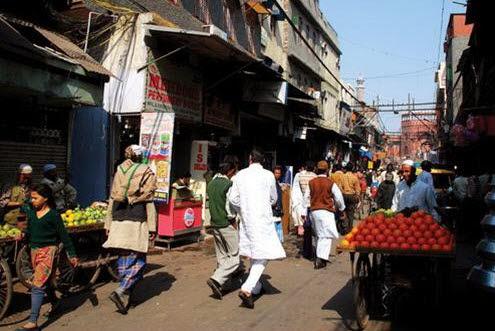 Một góc khu phố Hồi giáo