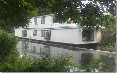 cool houseboat