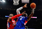 lebron james nba 130217 all star houston 71 game 2013 NBA All Star: LeBron Sets 3 pointer Mark, but West Wins