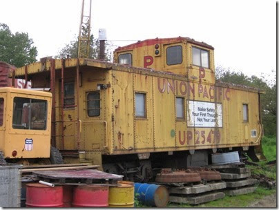 IMG_6452 Union Pacific Caboose #25479 at Chehalis on May 12, 2007
