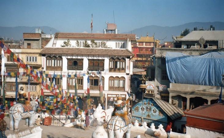 Obiective turistice Nepal: Boudhanath.jpg