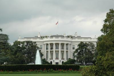 White House 南側