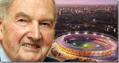 fundação Rockefeller prediz morte de 13000 pessoas no Jogos Olímpicos de 2012 - Priscila e Maxwell Palheta