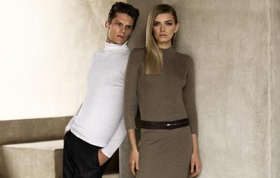 Danny Beauchamp + Lily Donaldson by Alasdair McLellan for Calvin Klein F/W 2011-12