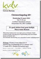 Week 2012-10 - KVLV Gewest Bertem 22.3.2012