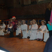 Stepping Stones Nativity at St M 2012