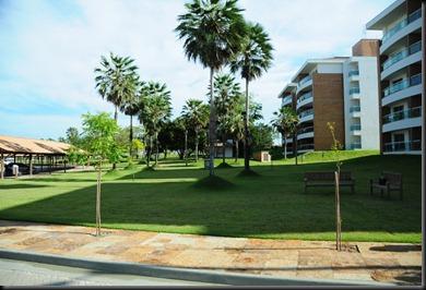 Foto da área externa