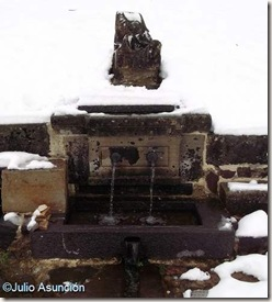 Fuente de la Virgen - Roncesvalles