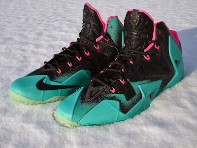 nike lebron 11 id production south beach 3 01 Nike LeBron XI iD South Beach Build by Awsome Blossom