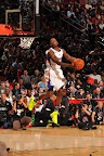wearing brons nba lebron10 volt eric bledsoe 09 Wearing Brons: Eric Bledsoe Takes Flight in Volt LeBron Xs
