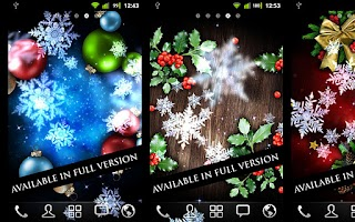 Screenshot of Snow Stars Free