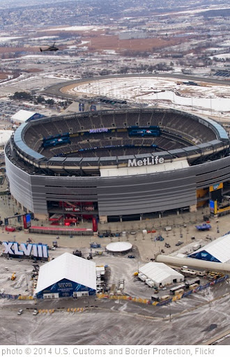 'OAM Helicopter Helps Patrol over MetLife Stadium prior to Super Bowl XLVIII' photo (c) 2014, U.S. Customs and Border Protection - license: http://creativecommons.org/licenses/by-sa/2.0/