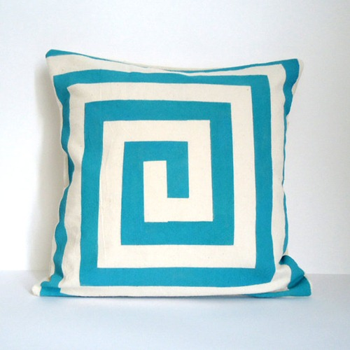 graphic lines throw pillows