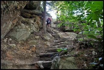 21 - Rock Garden Trail - more steps Up, Up, Up