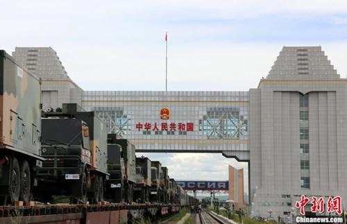 Фото подготовки и передислокации китайских войск к месту учений под Челябинском