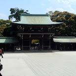 in Yoyogi, Tokyo, Japan