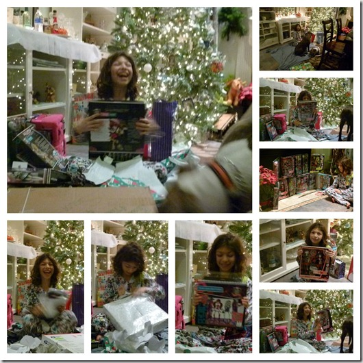 christmas 2012 opening gifts