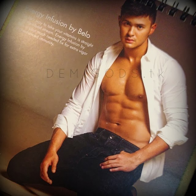 Matteo Guidicelli for Belo men - DEMIGODS