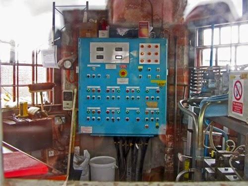 Control Panel Watchman's Hut